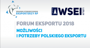 Podsumowanie Forum Eksportu 2018