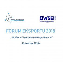 Forum Eksportu 2018