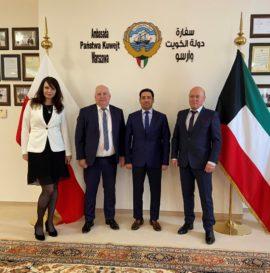 Spotkanie z Ambasadorem Państwa Kuwejt w dniu 12 kwietnia 2021r.